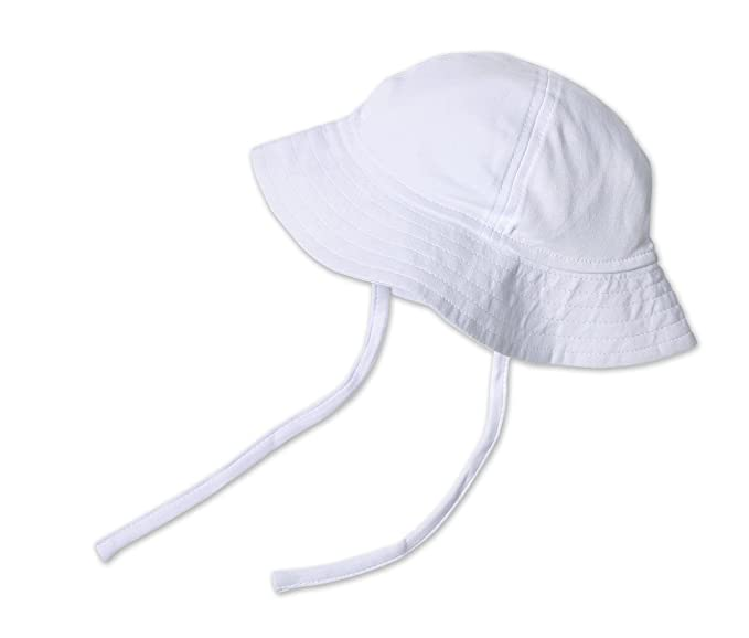Amazon.com  Zutano Girls  Unisex Baby Pastel Solid Sun Hat  Clothing 9da3d506c43