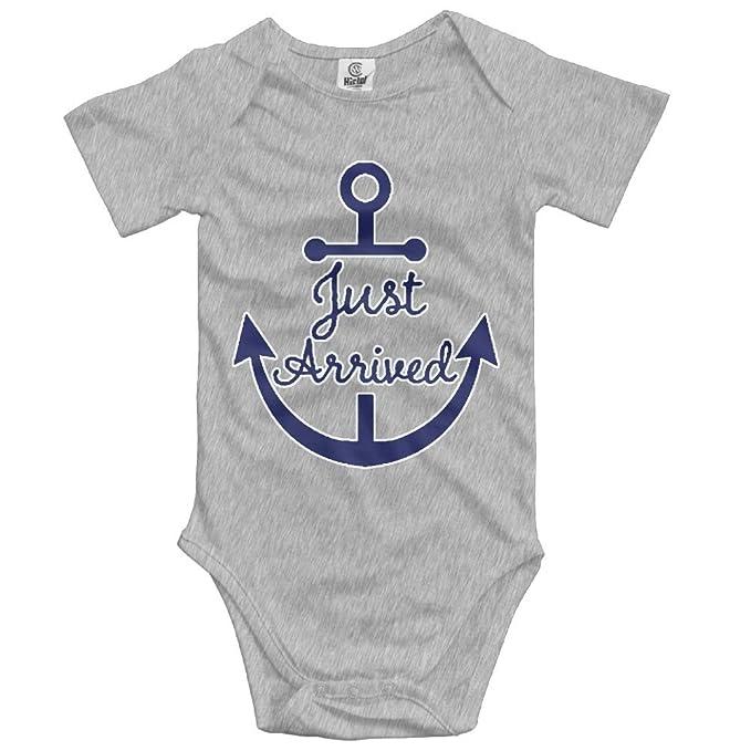 ba8671c22 Amazon.com: Just Arrived Anchor Baby Girls Bodysuit Onesie Fashion ...