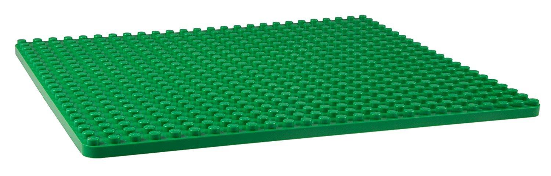 Strictly Briks Stapelbare Premium-Bauplatte nur f/ür Steine mit gro/ßen Noppen geeignet - Blau 16,25 x 13,75 kompatibel mit Bausteinen Aller f/ührenden Marken 41,3 x 34,9 cm