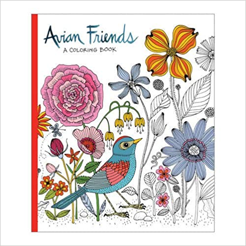 Avian Friends Coloring Book