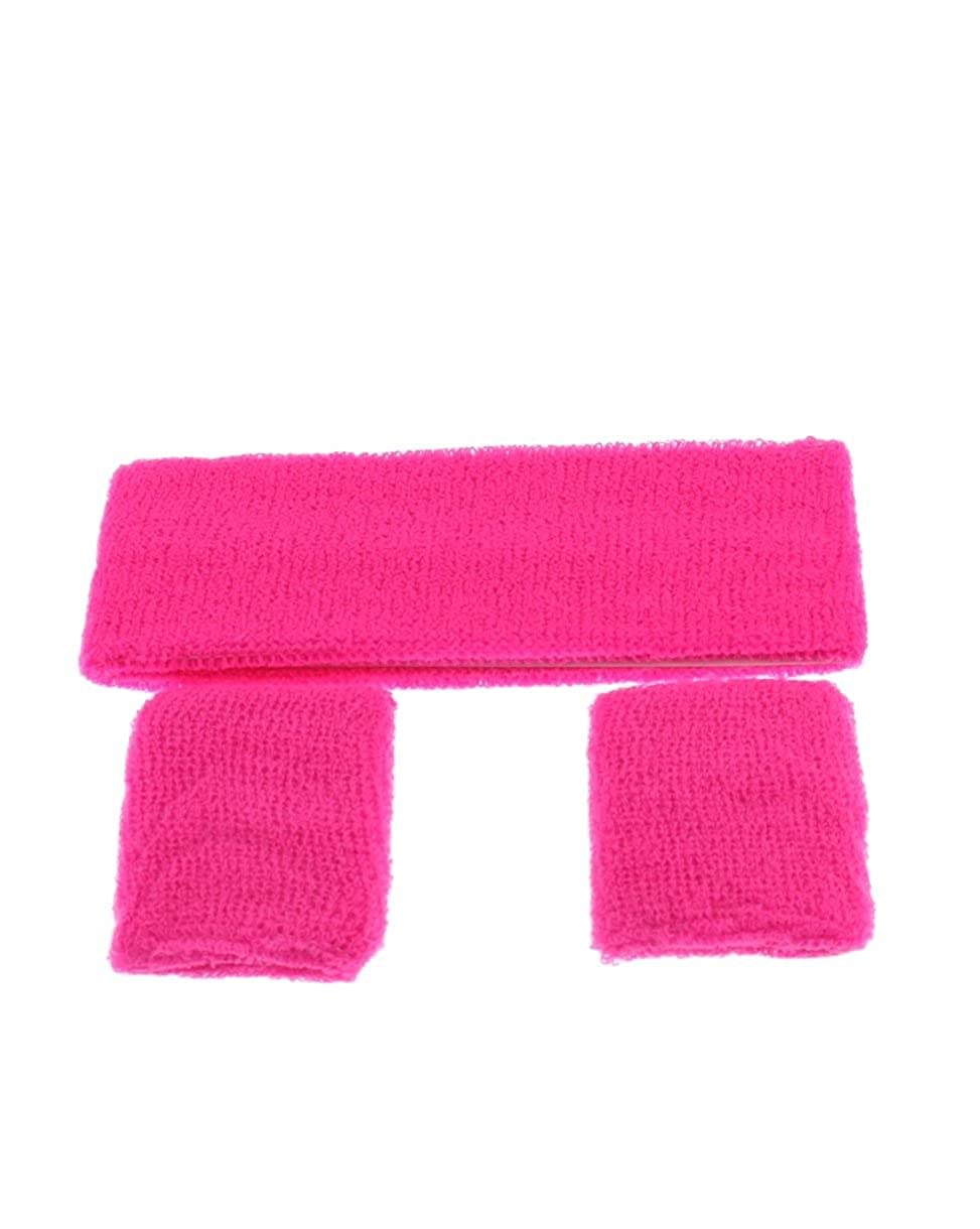 Soft Sports Sweatbands Sweat Wrist Headband Set Mytoptrendz/®