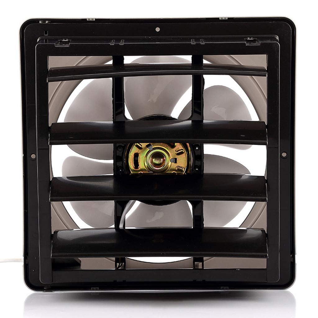 Moolo Exhaust Fan, Low Noise, Large Wind Louvered Bathroom Ventilation Fans by Moolo (Image #2)