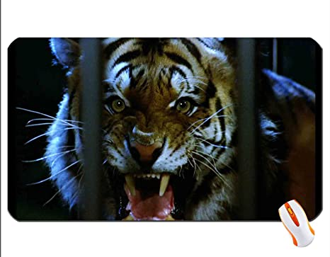 Angry Tiger Wallpaper Mouse Pad Super Big Mousepad