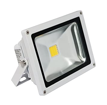 4500k white 25 watt led panorama pro floodlight with mounting