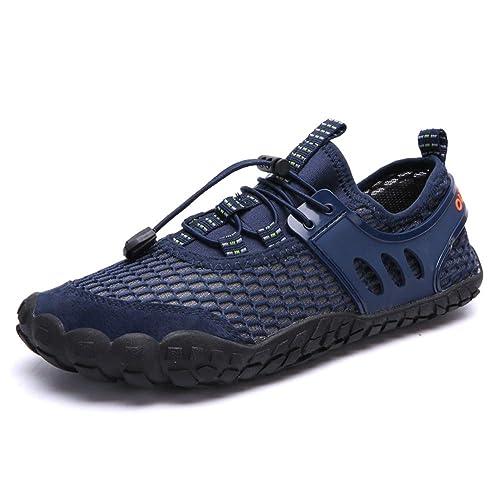71c384278be7 Zapatos de Agua Hombre Playa Zapatillas Mujer Unisex Secado Rápido Zapatos  Surf Natación Yoga