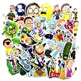 69pcs American Animation Cartoon for Laptop Stickers Motorcycle Bicycle Skateboard Luggage Decal Graffiti Patches Waterproof Stickers