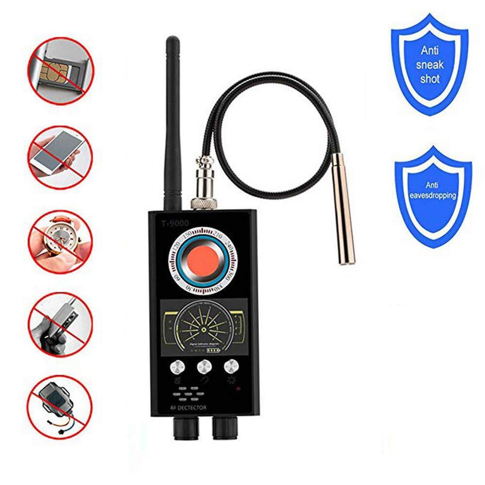 WMWHALE Wanzen-Detektor-Signal-Detektor GPS Tracker Anti-Candid Camera Finder Anti-Raupen Anti Eavesdroped Detector Infrarot-Kamera-Scanner