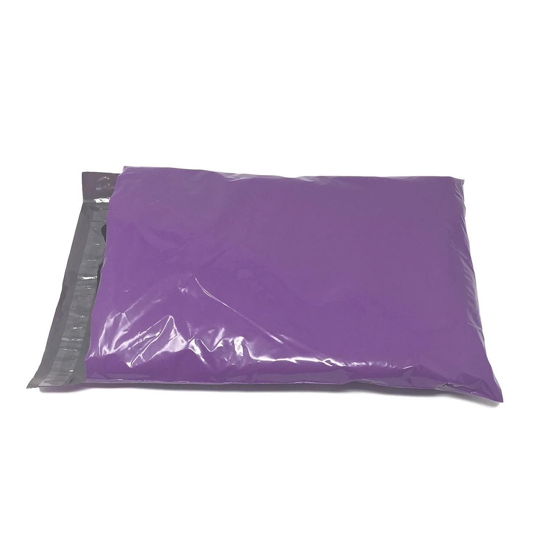 Shop4Mailers 12 x 15.5 Purple Poly Bag Mailer Envelopes 2 Mil 500 Pack