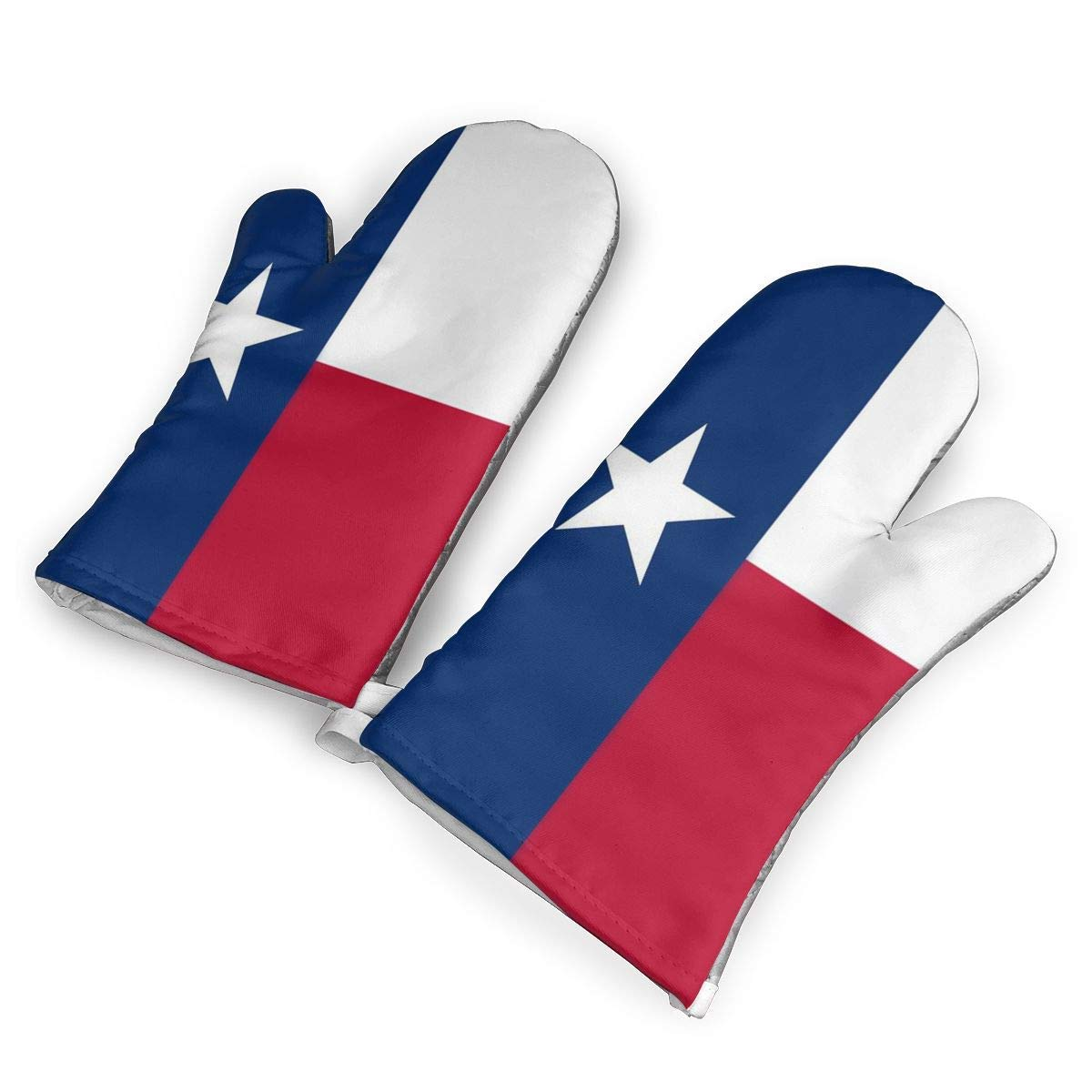 VANKINE Texas Oven Mitts Cooking Gloves 480 F Heat Resistant, Non Slip Grip Pot Holders for Kitchen Oven BBQ Grill and Fire Pits for Cooking Baking