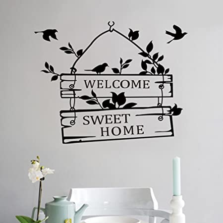 0e8cce637a Windyeu Wall Stickers Removable Vinyl Large Peel And Stick Mural Decal Art  Home Decor Painting Supplies for Living Room Bathroom 39*39cm:  Amazon.co.uk: DIY ...