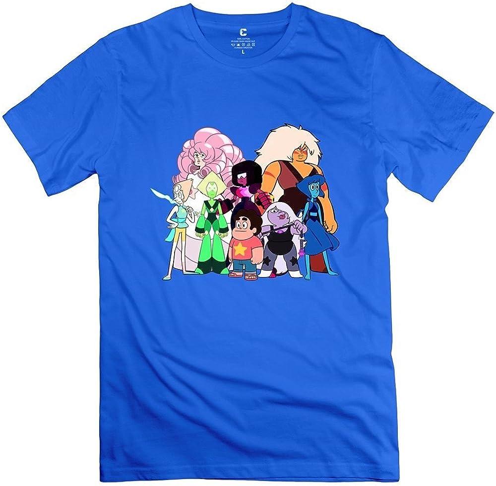Men Steven Universe Customized Cool White T-Shirt By Mjensen