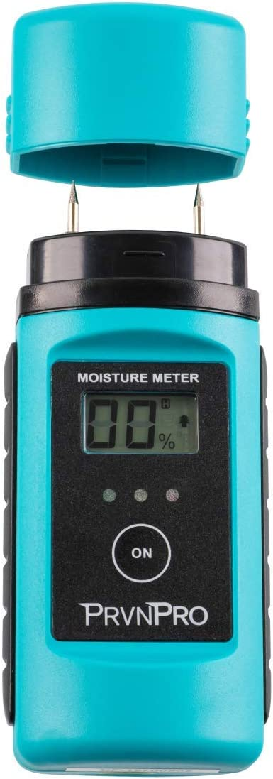 PrvnPro Digital Pin-Type Moisture Meter Tool with Backlit Display