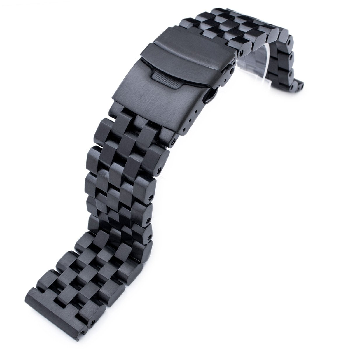 22mm SUPER Engineer Type II Solid Stainless Steel Watch Band