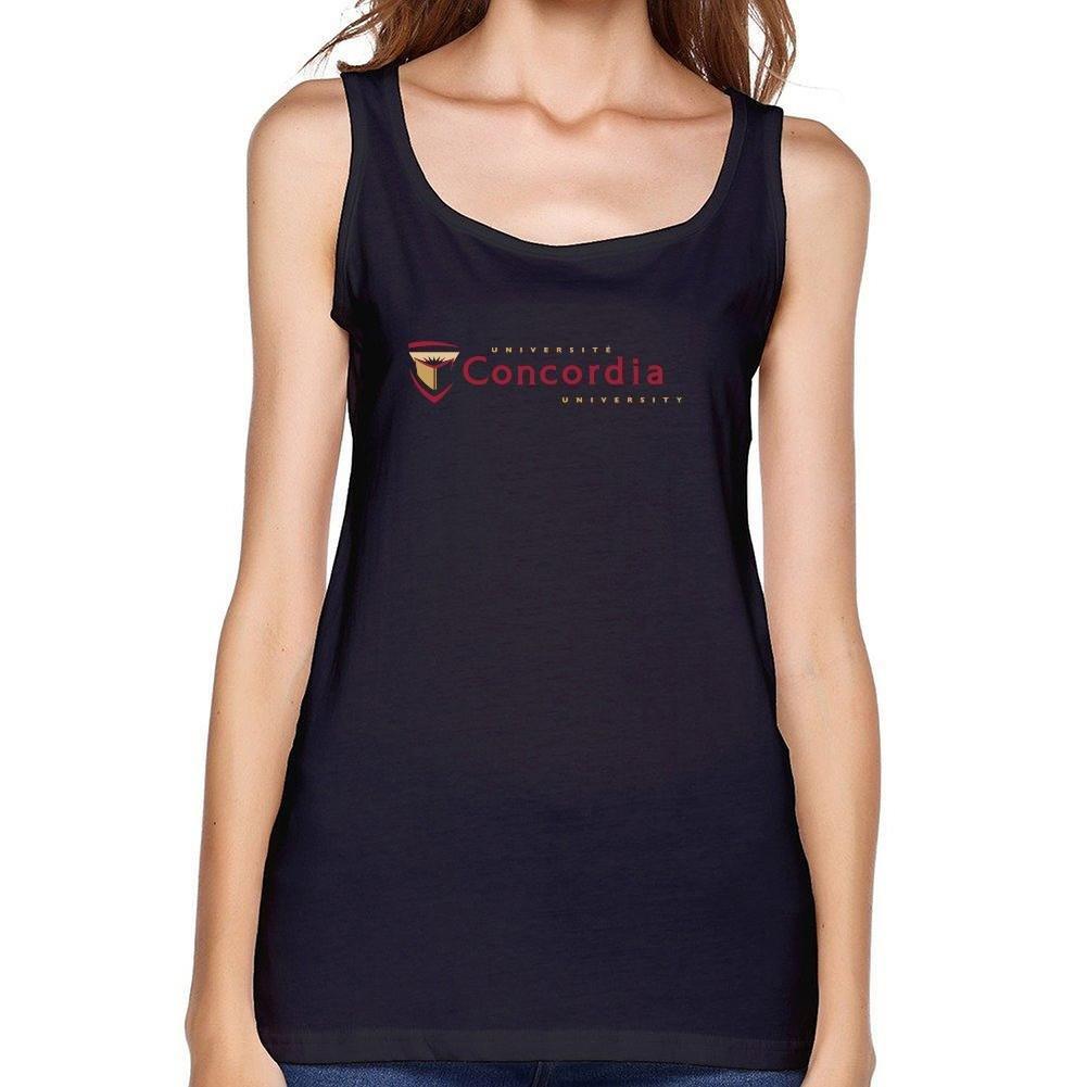 Dotion Women's Concordia University Waistcoat T Shirt