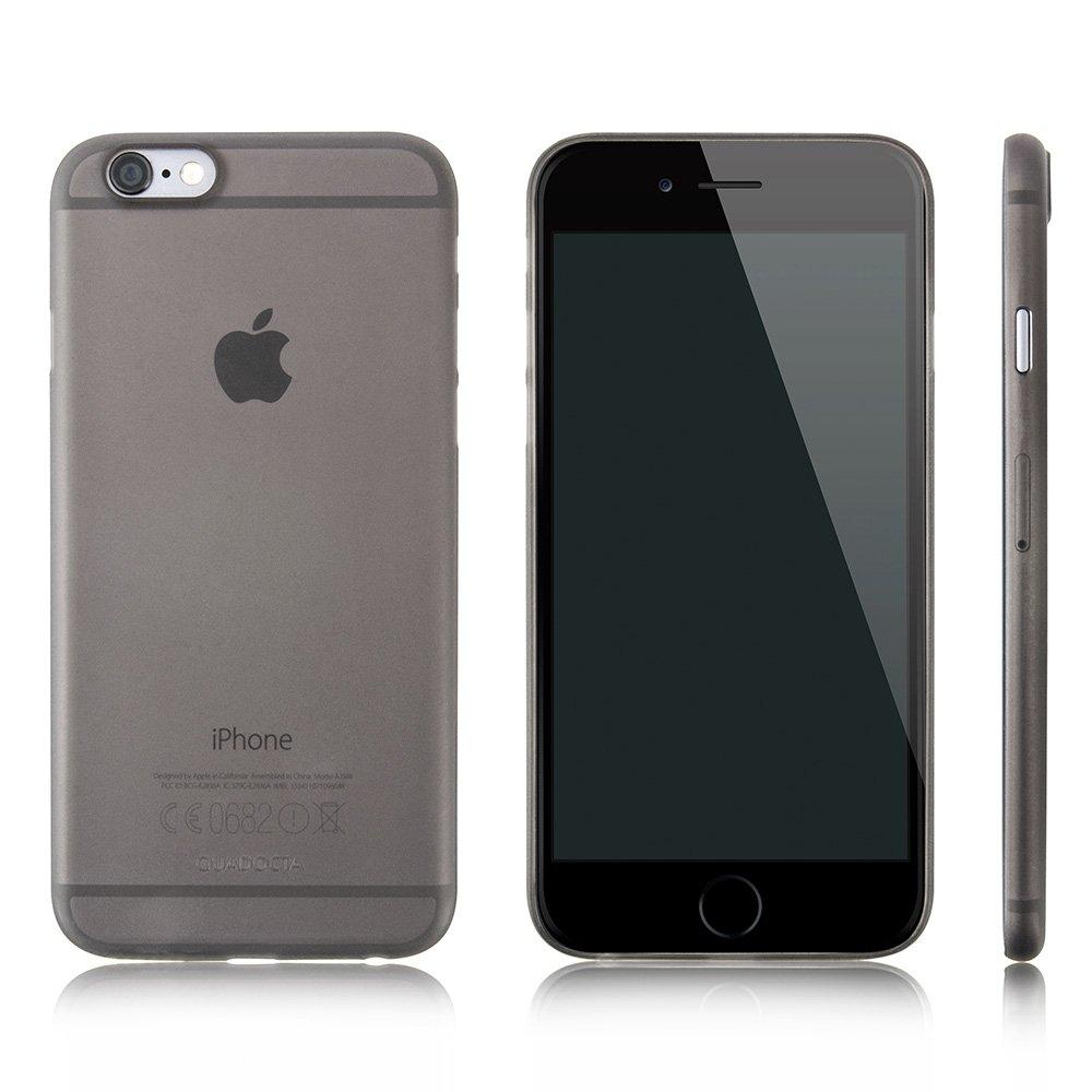 """Quadocta Funda Ultrafina Gris Espacial """"Angusta"""" para el iPhone 6s y iPhone 6 de Apple de 4,7 Pulgadas. Funda Protectora Extra Fina iPhone 6/6s ..."""