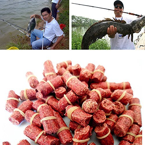 Delight eShop Lot Fishing Baits Smell Red Grass Carp Baits Coarse Fish Lures