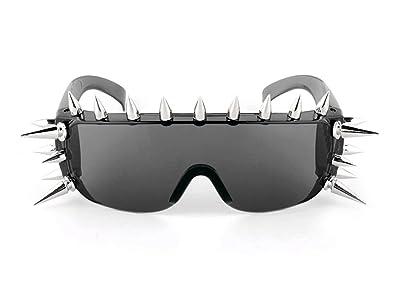 Gafas de sol de estilo rockero con remaches: Amazon.es: Joyería