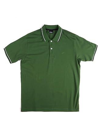 Key up 2Q70G 0001 Polo Hombre Green XXL: Amazon.es: Ropa y accesorios