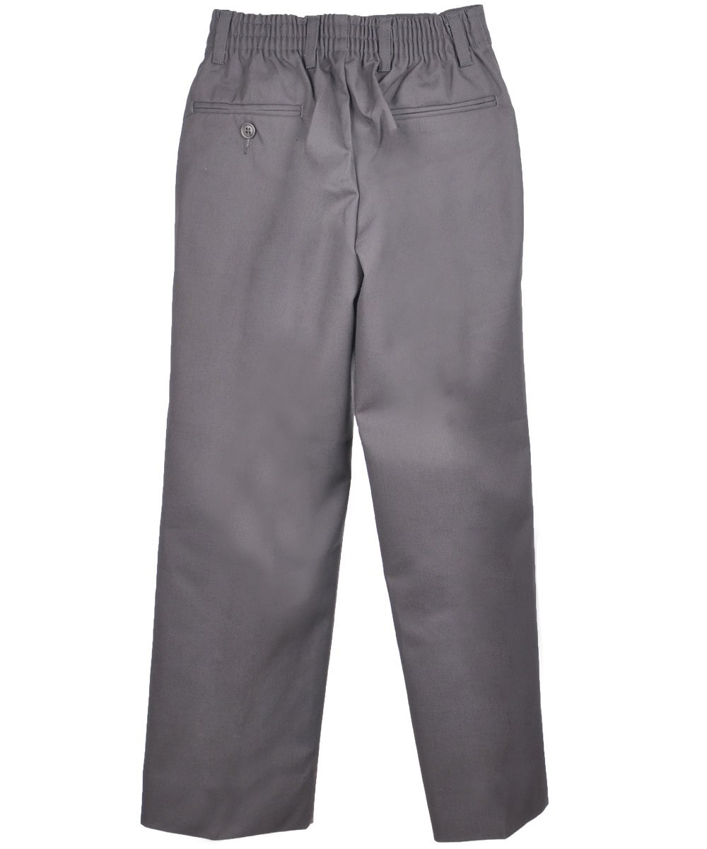 Cookie's Brand Big Boys' Pleated Pants - gray, 18