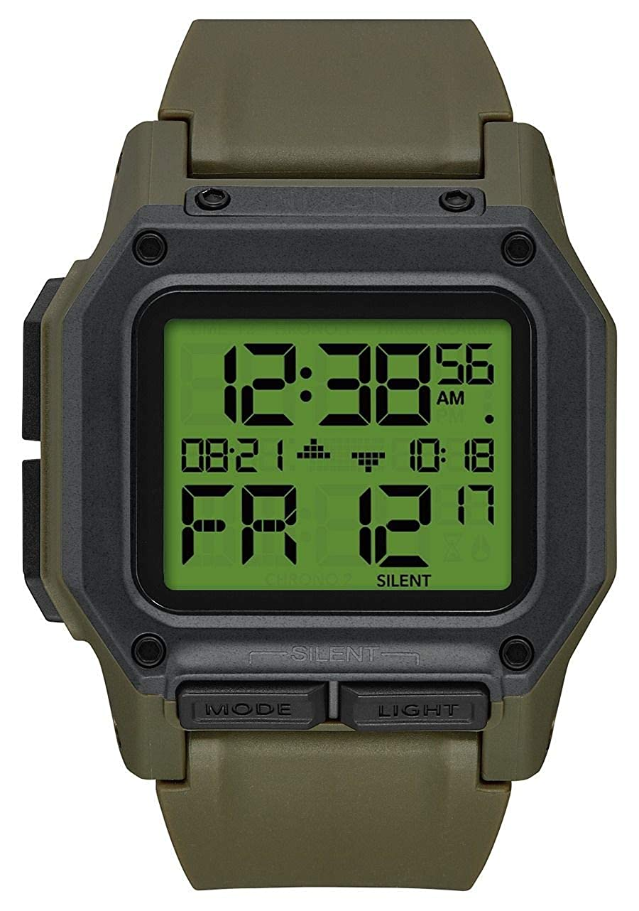 TALLA UNICA. Reloj NIXON Regulus Verde Unisex