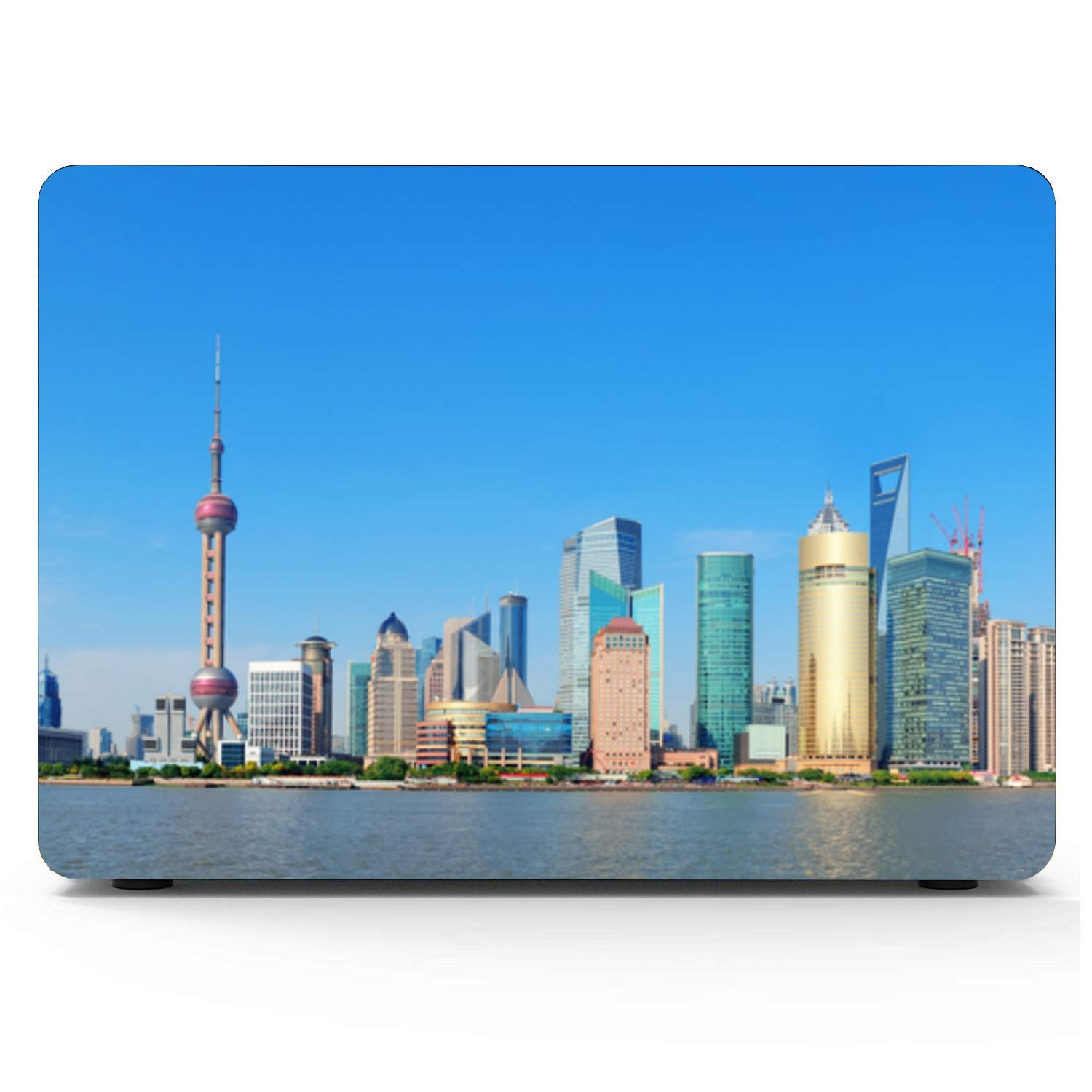 MacBook Air Computer Case Sign Travel Building Oriental Pearl Plastic Hard Shell Compatible Mac Air 11 Pro 13 15 Accessories for MacBook Pro Protection for MacBook 2016-2019 Version