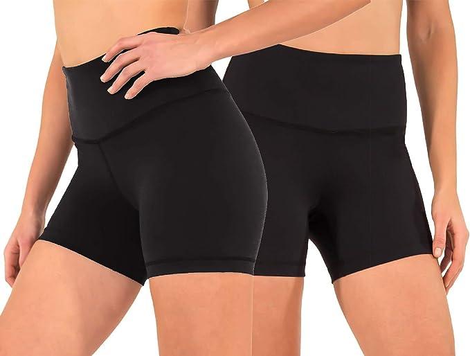 Amazon.com: Reflex Power Flex - Pantalones cortos de yoga ...
