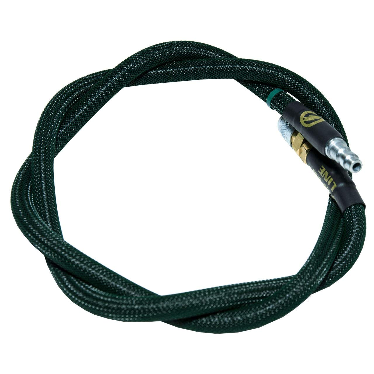 AMPED Airsoft Amped Line   Standard Weave for PolarStar, Wolverine, and Redline HPA Units 36 Inch (Recommended) Forest Green by AMPED Airsoft
