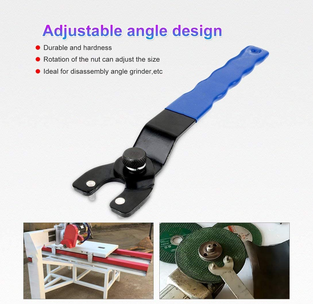 Swiftswan Adjustable pin wrench plastic handle angle grinder key ...