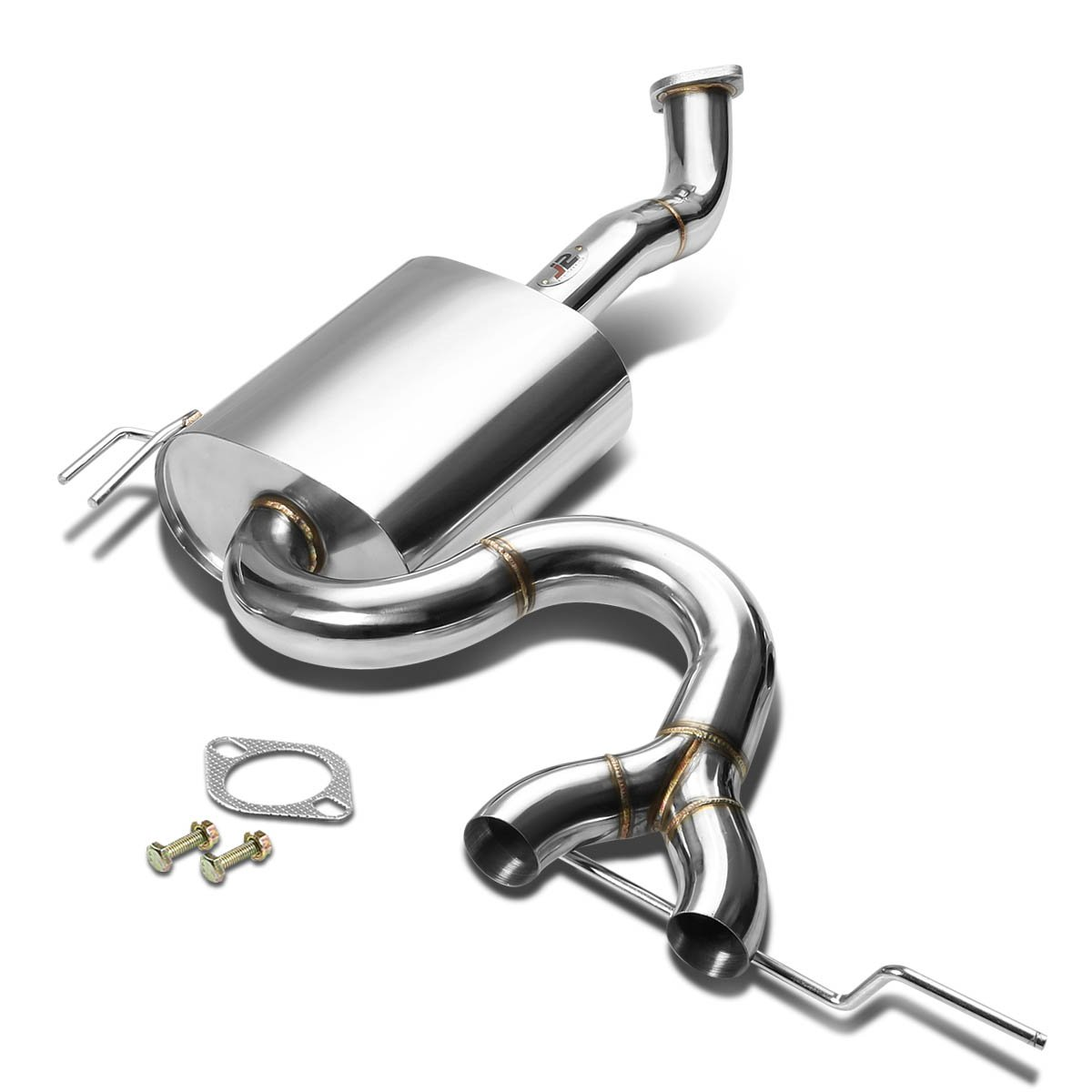 amazon j2 engineering dual 4 5 outlet exhaust axle back 6.7 Cummins Performance Turbo amazon j2 engineering dual 4 5 outlet exhaust axle back catback system for veloster base automotive