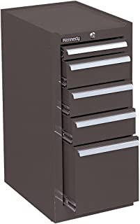 """product image for Kennedy Manufacturing 185B 14"""" 5-Drawer Industrial Side Cabinet, Tan Brown Wrinkle"""