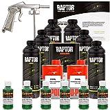 U-POL Raptor Emerald Green Urethane Spray-On Truck Bed Liner Kit w/ FREE Spray Gun, 6 Liters