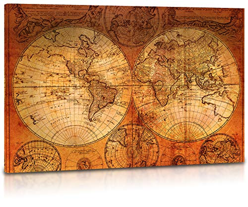 Top 10 map wall art for living room for 2020