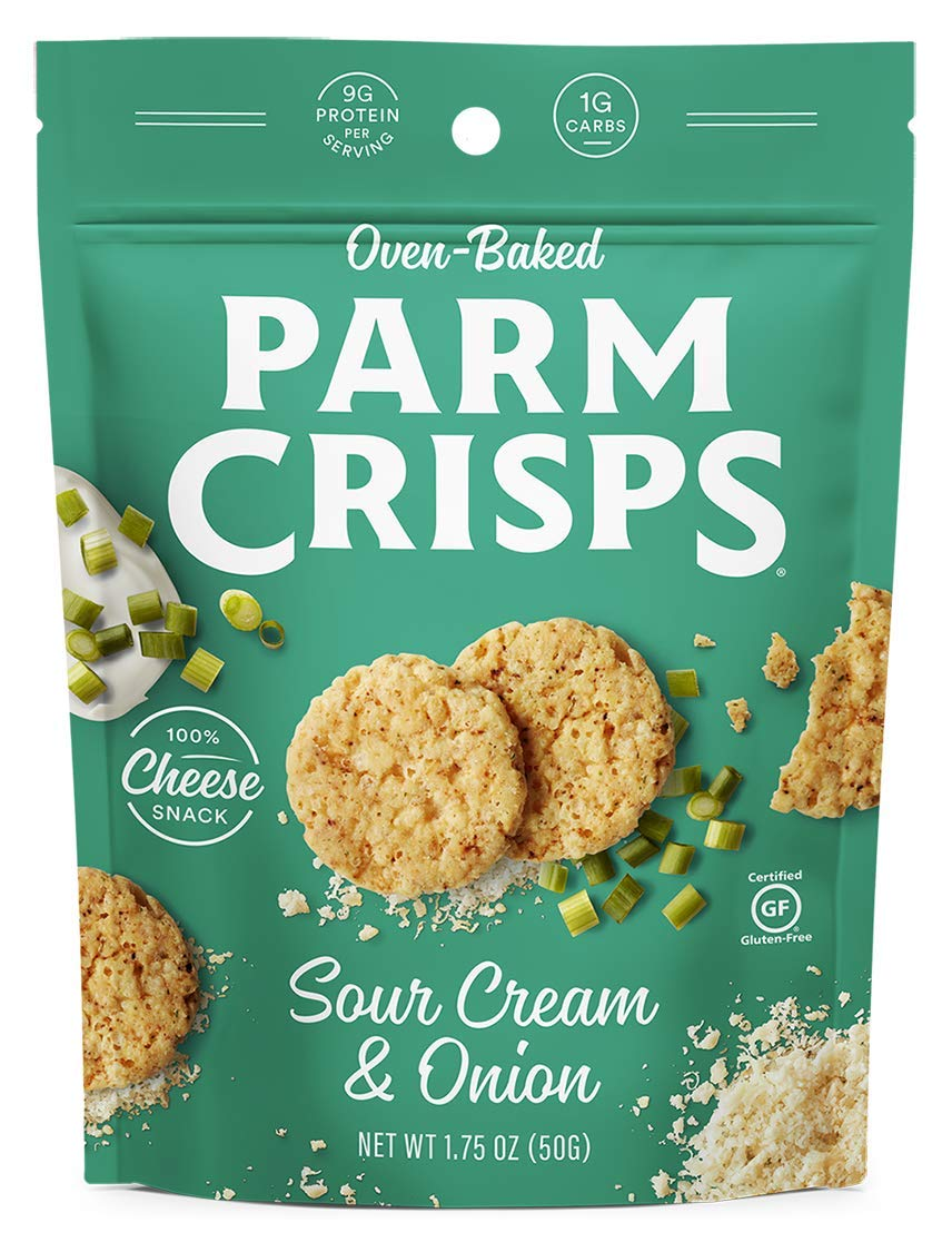 ParmCrisps Jalapeno, 1.75 Oz (Pack Of 12), 100% Cheese Crisps, Keto Friendly, Gluten Free