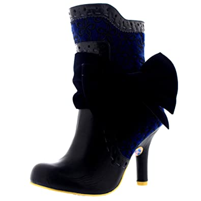 Womens Irregular Choice Rosie Lea Evening Ankle Boot Party High Heels