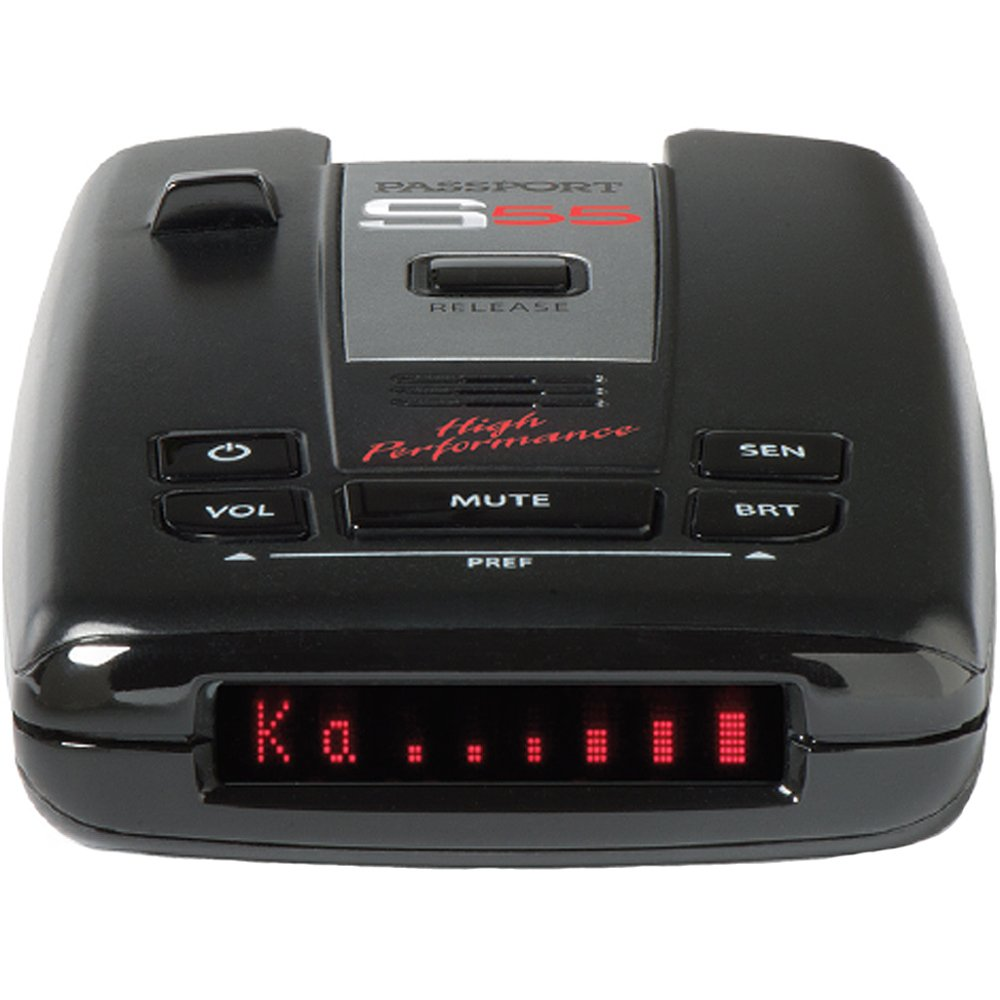 Escort Passport S55 High Performance Pro Radar and Laser Detector with DSP (High-Intensity Red Display) by Escort (Image #7)