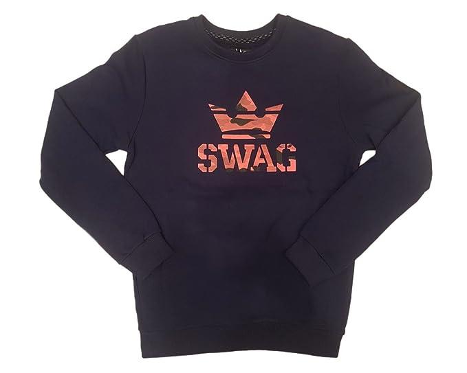 SWAG - Sudadera - para Hombre Turquesa Small