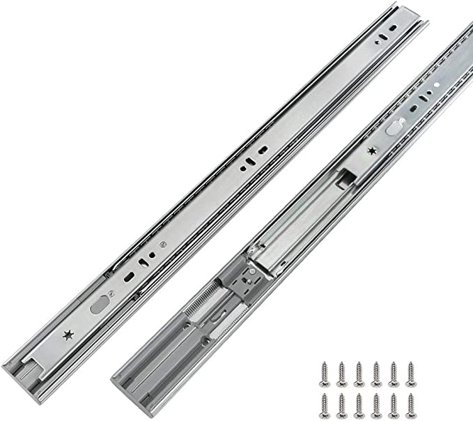 Dynapro 2-D 18 Soft-Close Slide W// Std Locking Devices