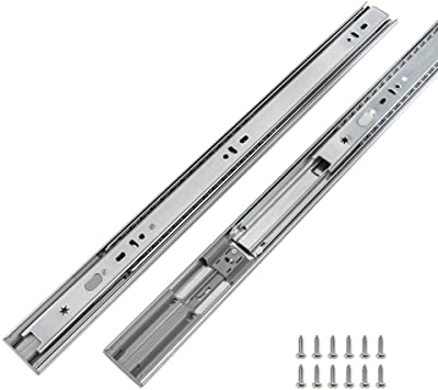 18 Drawer Slides Full Extension 10 Pairs LONTAN 4502S3-18 Soft Close Drawer Slides Heavy Duty Drawer Slides for Kitchen 100 LB Capacity