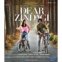 Dear Zindagi Bluray - 2016 Bollywood Movie Bluray Special Edition / Shahrukh Khan