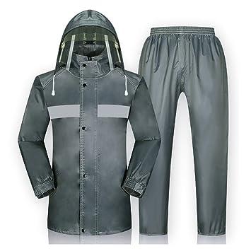 Impermeable Traje Pantalones de la Lluvia de la Motocicleta ...