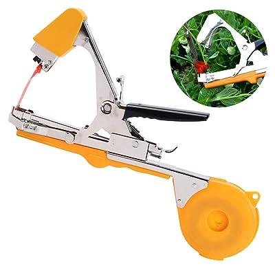 Eamplest Garden Tapetool Tapener, Plant Branch Flower Vegetable Hand Tying Binding Machine Tape Tools: Home & Kitchen