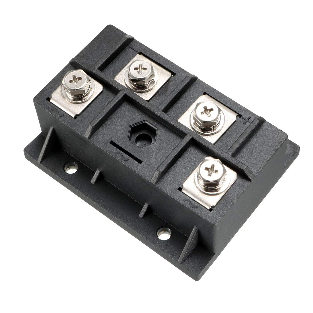 uxcell MDQ200A1600V 4 Terminals Full Wave Diode Module Single Phase Bridge Rectifier