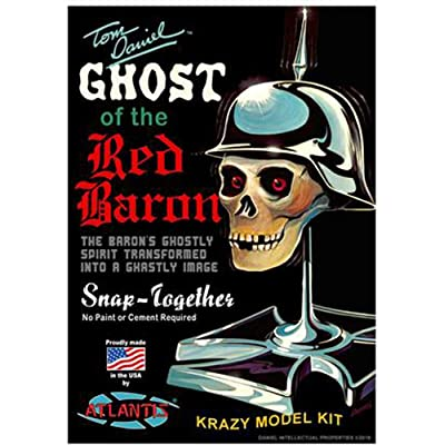 Ghost of The Red Baron Model Kit Tom Daniel Atlantis Toy and Hobby: Toys & Games