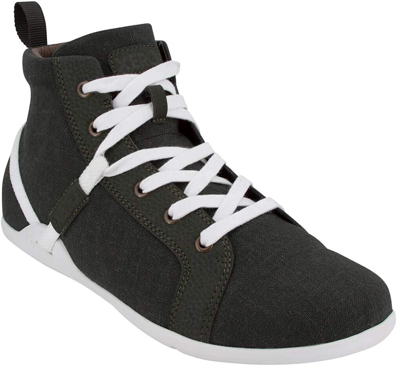 Amazon Com Xero Shoes Toronto Men S Lightweight High Top Hemp Canvas Casual Sneaker Barefoot Inspired Minimalist Zero Drop Fashion Sneakers