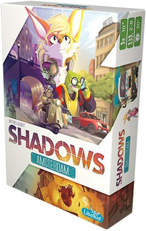Libellud-LIBSHAM01ES Shadows Amsterdam-Español, Multicolor ...