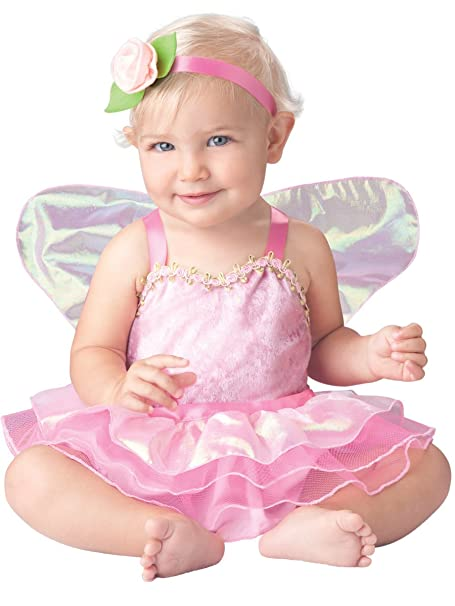 InCharacter Baby Girl's Precious Pixie Costume, Pink, Medium (12-18Months)