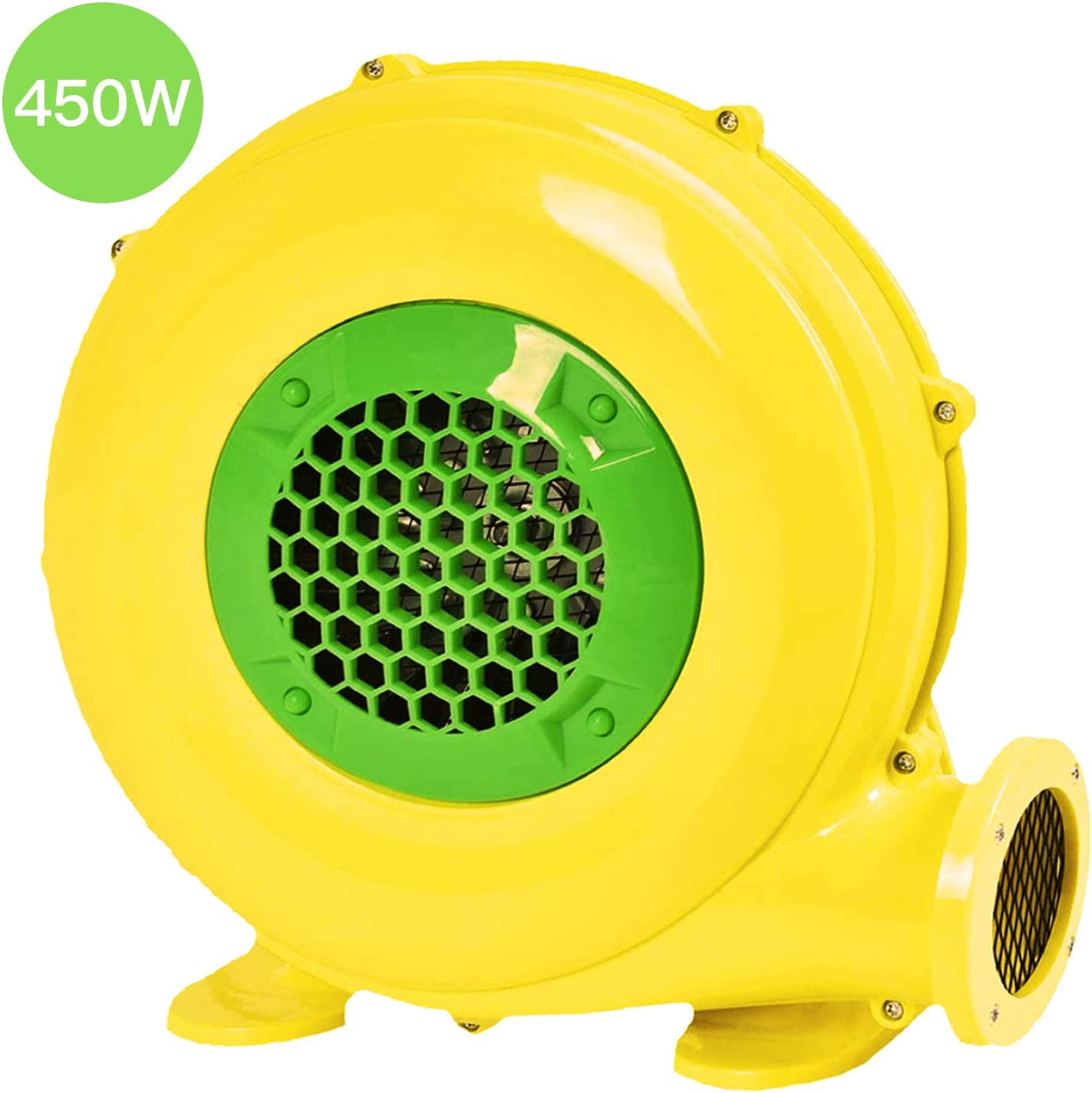 Royalblower Air Blower, Pump Fan Commercial Inflatable Bouncer Blower, Perfect for Inflatable Bounce House, Jumper, Bouncy Castle (450 Watt)