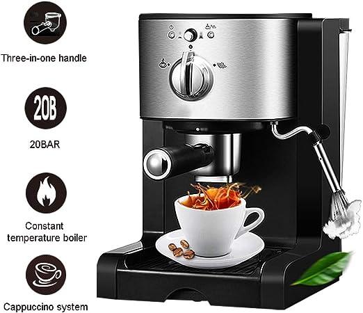 WLNKJ Cafetera Automática, Máquina De Café Y Capuchino con Control De Temperatura Doble De Alta Presión De 20 Bar - para Cápsulas Comerciales Domésticas: Amazon.es: Hogar