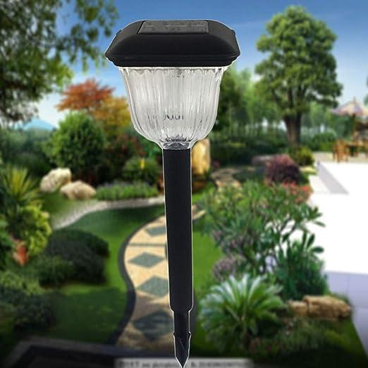 Chouorn - Lámpara Solar para césped con Luces LED Impermeables para Exteriores, jardín, Patio, Camping, etc.: Amazon.es: Jardín