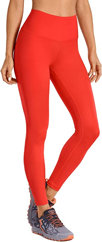 CRZ YOGA Donna Pantaloni da Allenamento Capri Leggins Sportivi Yoga con Tasche